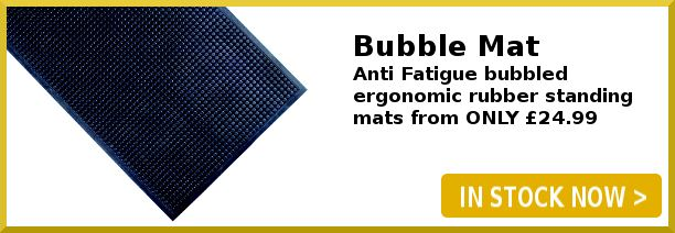Bubble Mat Antifatigue Rubber Standing Mat