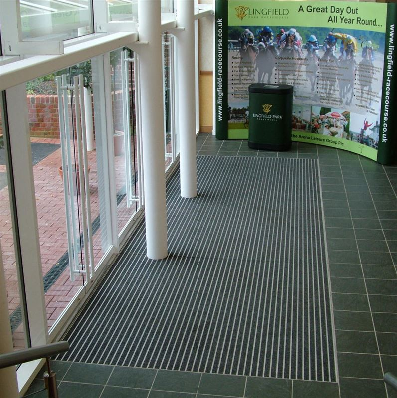 Street King Aluminium Entrance Matting Jaymart Rubber