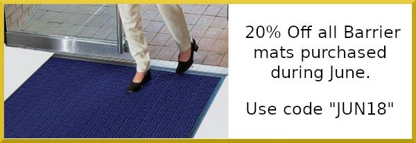 20% Offer Barrier Mats for March