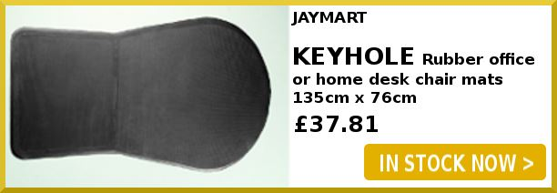 Keyhole Rubber Chairmats