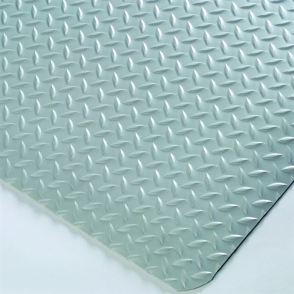 Diamond Foot Mat Grey