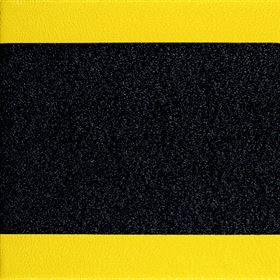 Soft Foot Pebble Black Yellow