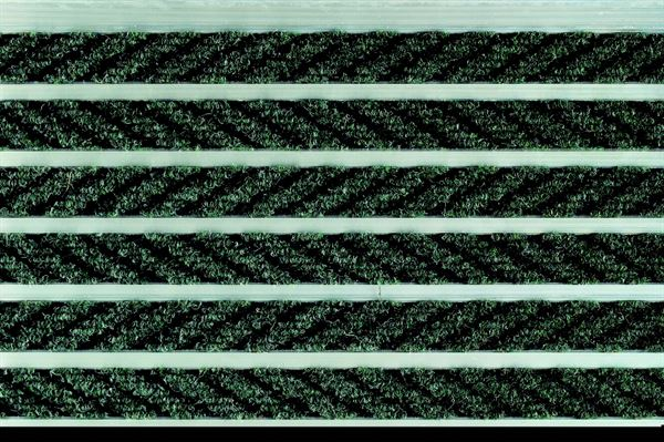 Alligator Interzone Forest Green aluminium entrance matting