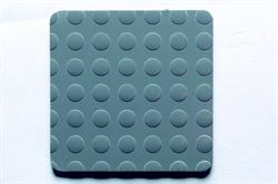 K6 Anthracite (Zoom) rubber tiles